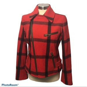 Ralph Lauren Rugby Plaid ZipUp Jacket
